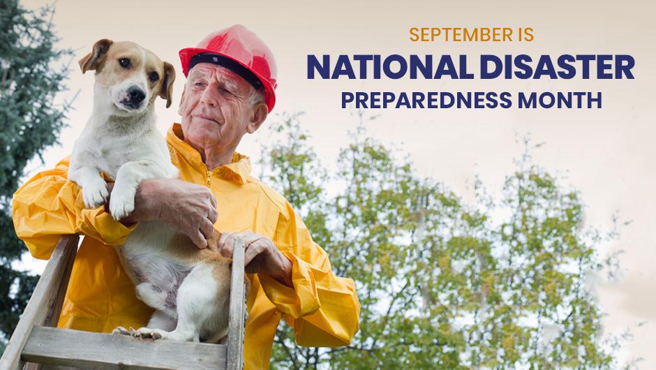 September is National Disaster Preparedness Month